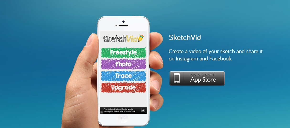 App for Tracing Sketches