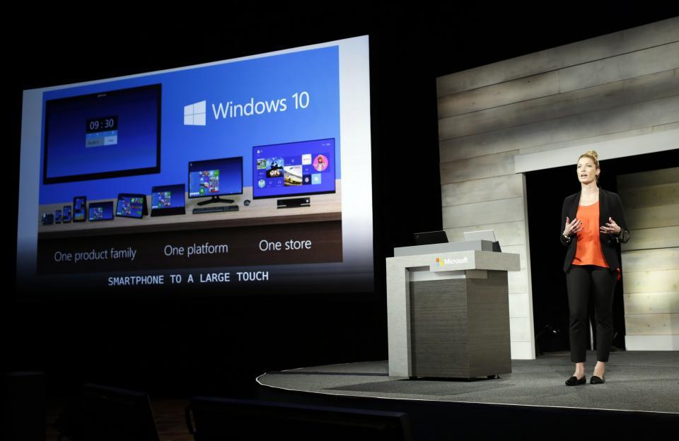Windows 10 launch